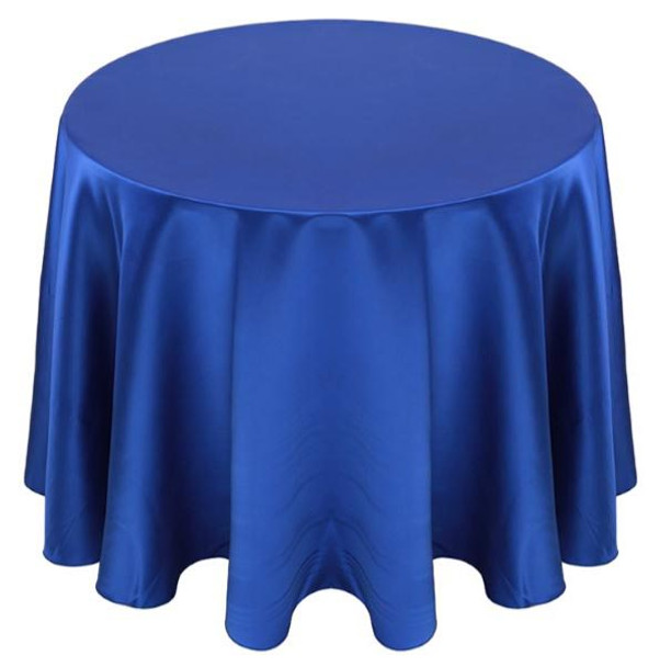 Matte Satin Tablecloth Linen-Royal