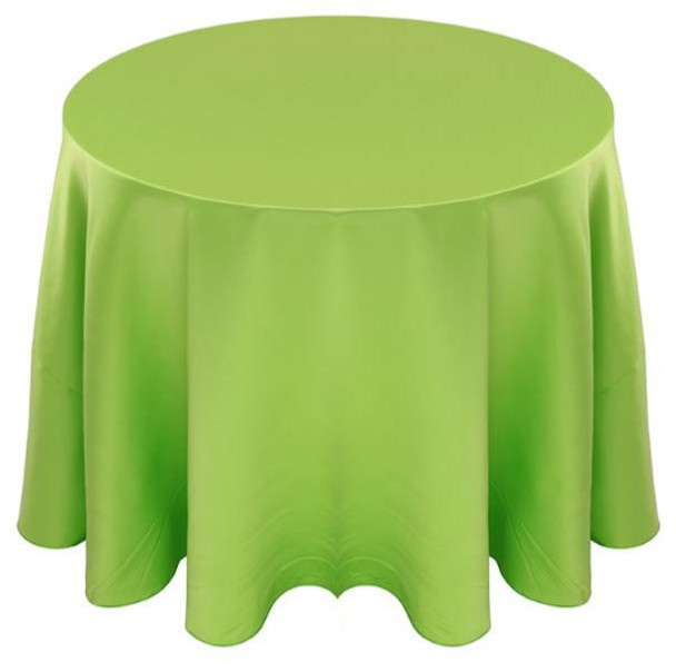 Matte Satin Tablecloth Linen-Apple