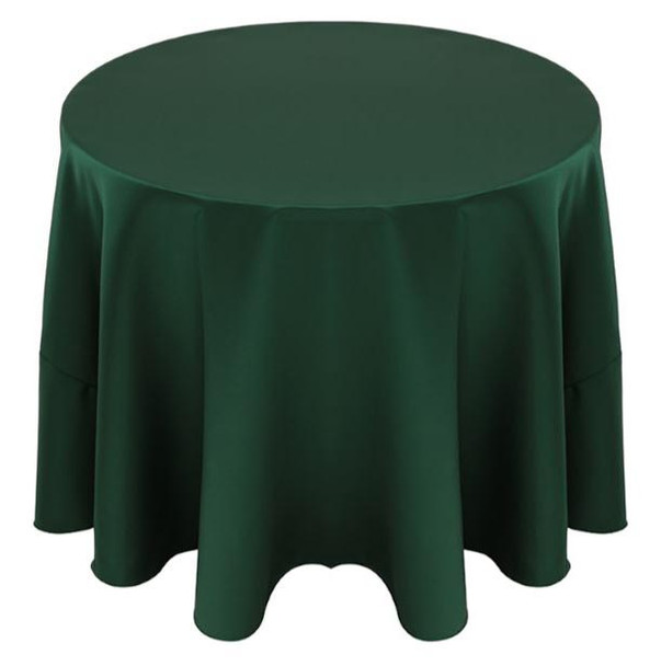 Matte Satin Tablecloth Linen-Hunter