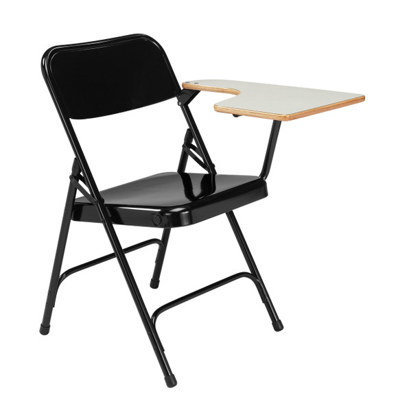 Tablet Arm-Premium Metal Folding Chair By National Public Seating, 5200 Series