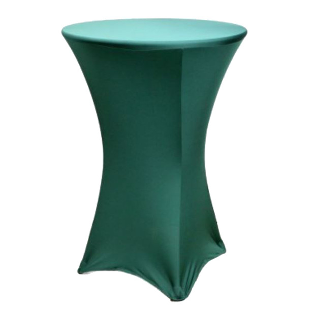 "Spandex Cocktail Table Linens for 30"" Round Top in 42""Height-Willow"