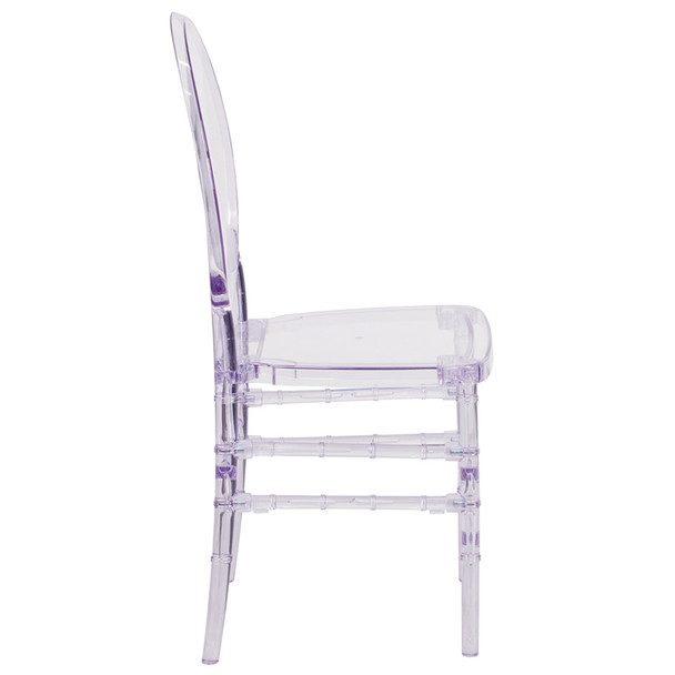 Florence Crystal Ice Stacking Chair
