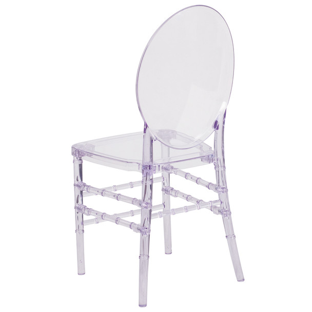 Florence Elegance Crystal Ice Stacking Chair