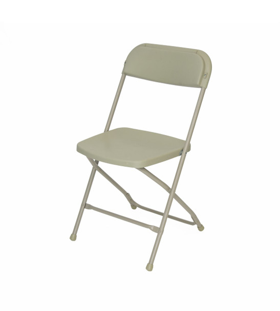 Plastic Folding Chair Premium Rental Style-Bone