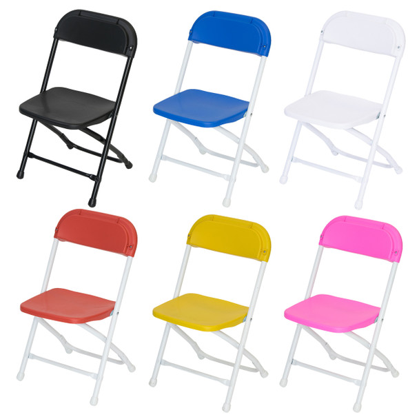 Classic Series Children's Plastic Folding Chair