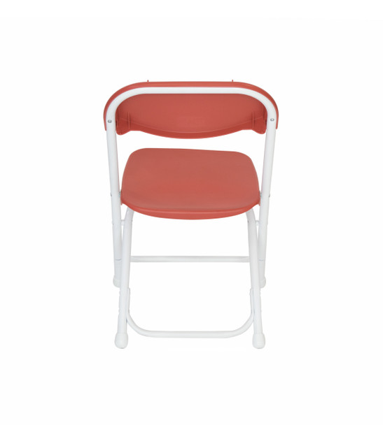 Classic Series Children's Plastic Folding Chair-Red