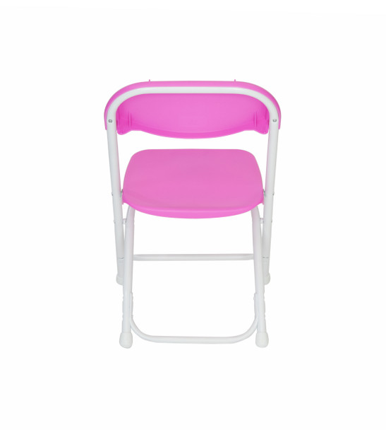 Classic Series Children's Plastic Folding Chair-Pink