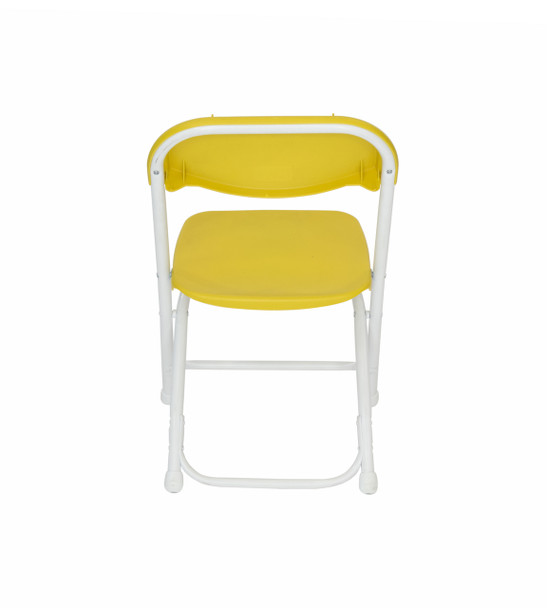 Classic Series Children's Plastic Folding Chair-Yellow