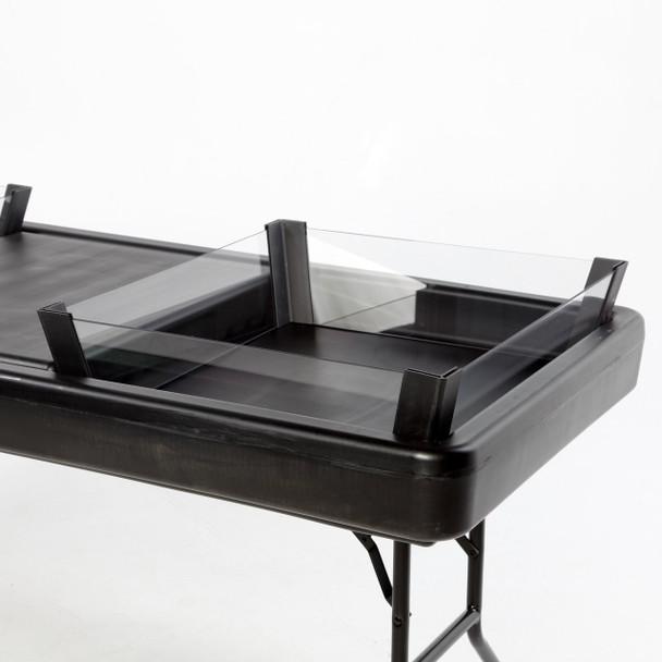 2/3 Depth Extension Kit - Black For Little Chiller Tables