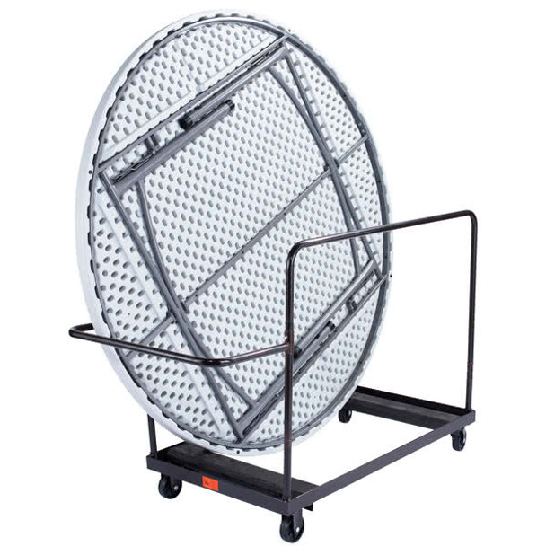 """10-Capacity Storage and Transport Dolly for 72"""" Round Folding Tables"""
