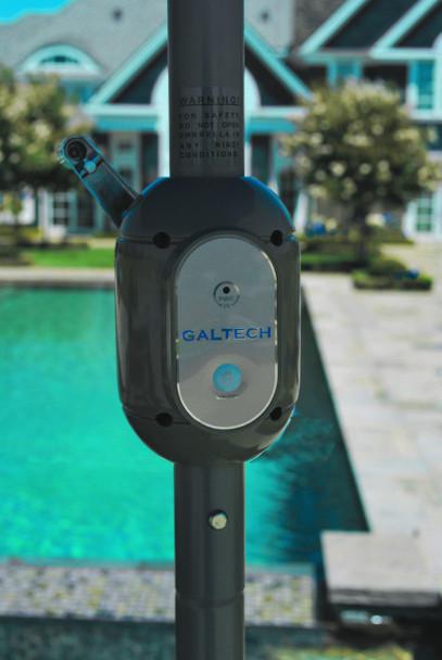 Galtech 11-ft. L.E.D.Aluminum Umbrella With Auto-tilt Crank Lift, Model 986 (GA986)