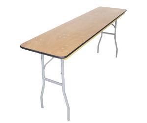 Seminar Wood Folding Tables