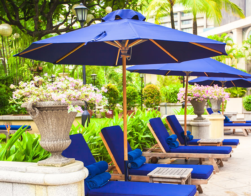Wood Umbrellas