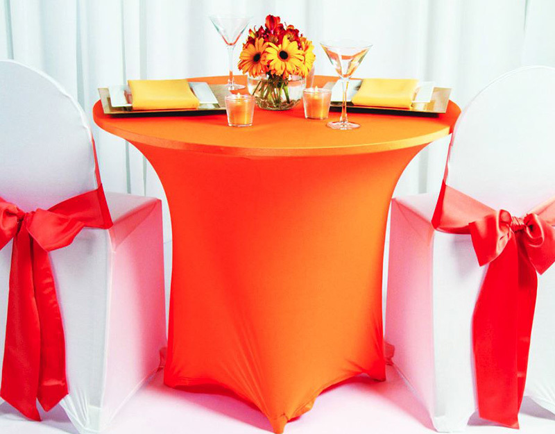 Spandex Table Linens