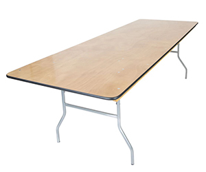 Banquet Wood Folding Tables