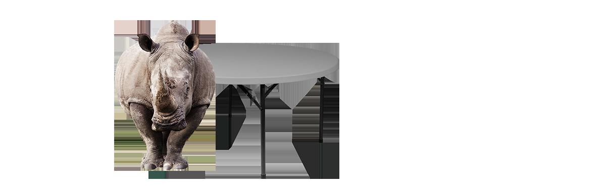 Rhino-lite Plastic Folding Tables