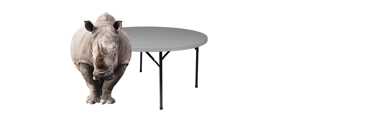 RhinoLite Plastic Folding Tables