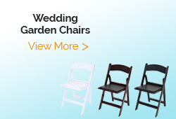 Wedding Garden Folding Chairs