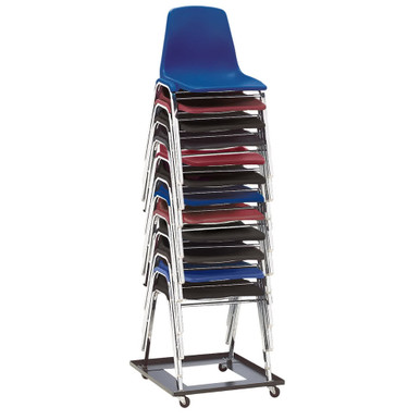 12 Capacity Square Stack Chair Dolly By National Public