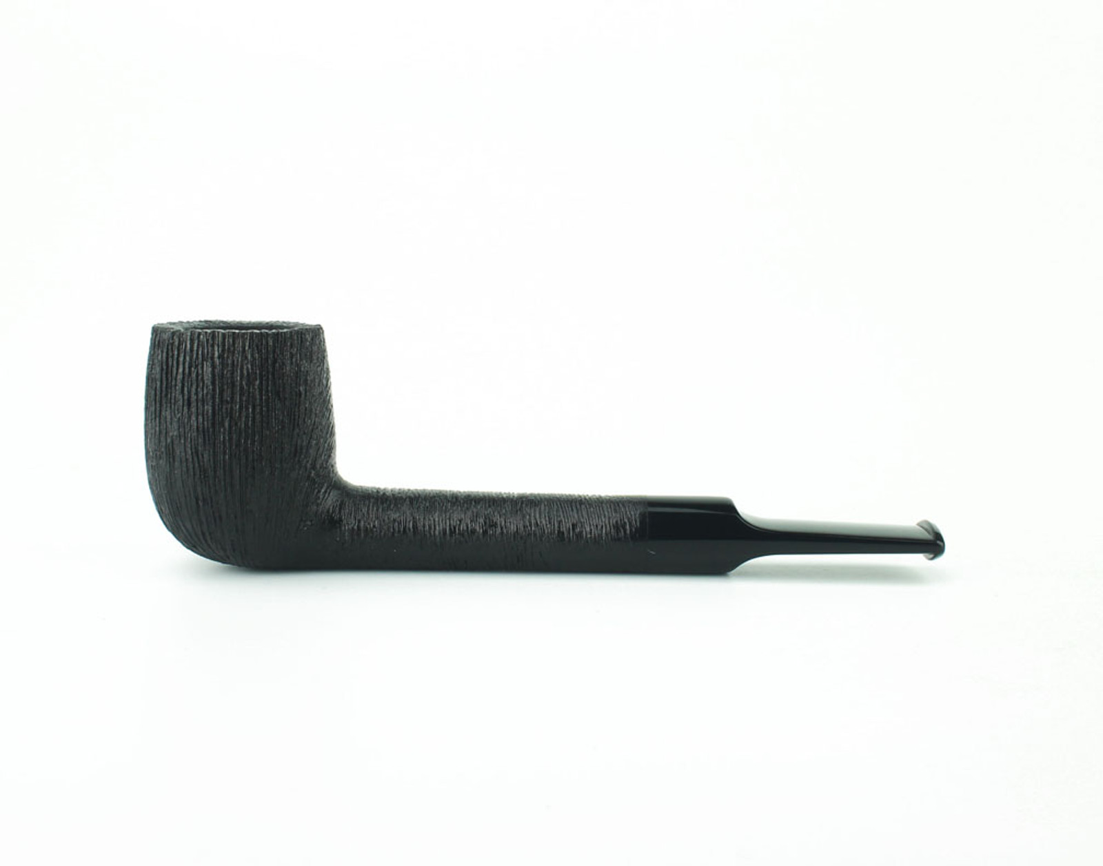 C23DR B - BriarWorks Classic C23 Lovat - Dark Rusticated w/ Black Stem