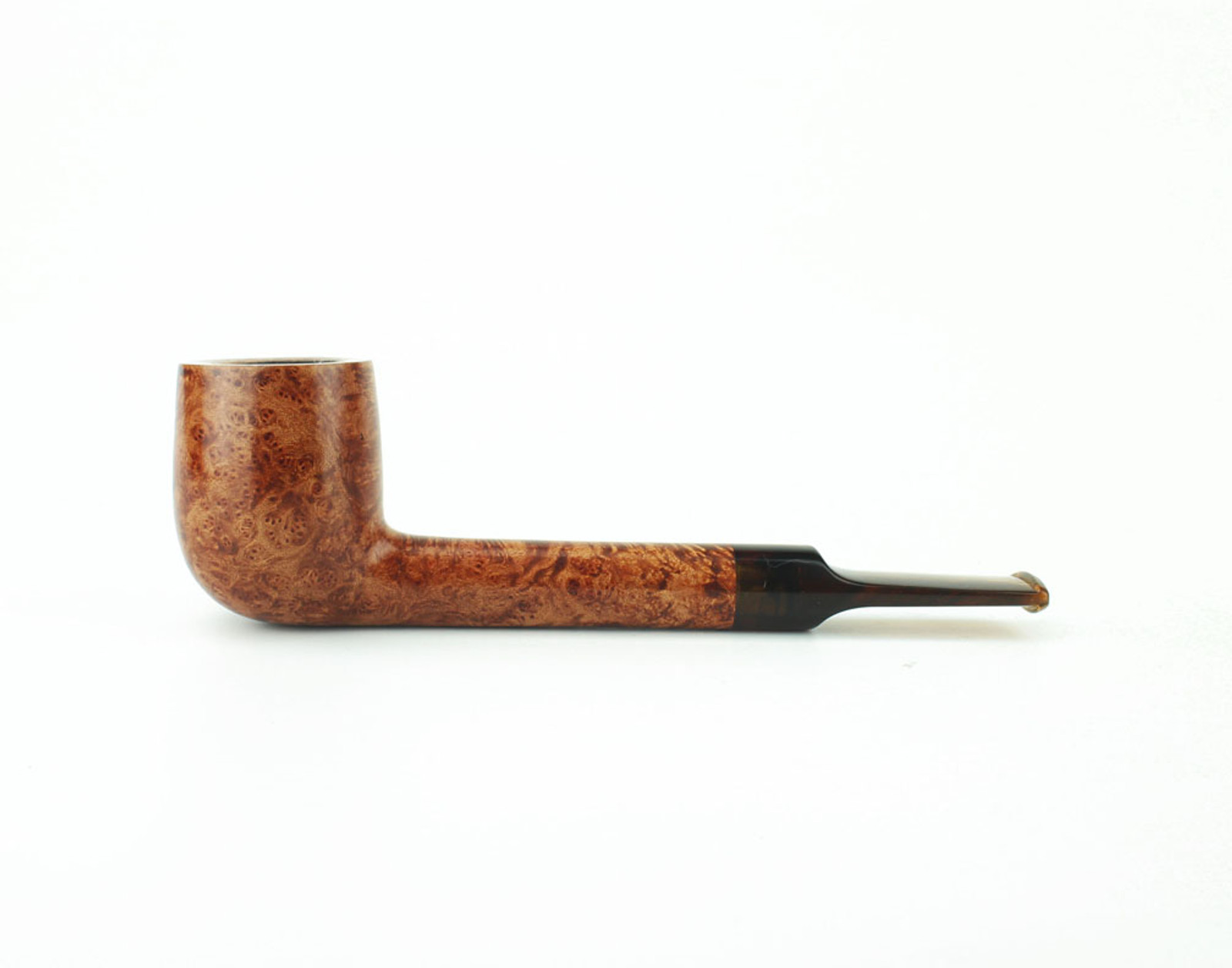 C23LS T - BriarWorks Classic C23 Lovat - Light Smooth w/ Tortoise Stem