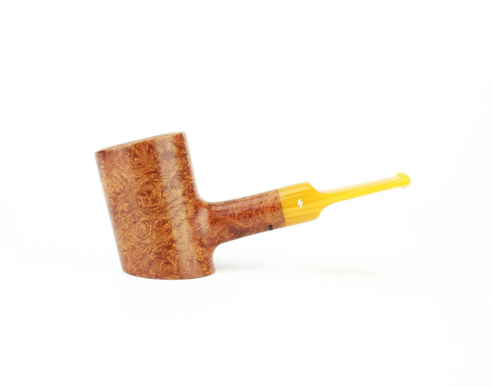 MS01LS A - Moonshine Patriot - Light Contrast Smooth w/ Amber Stem
