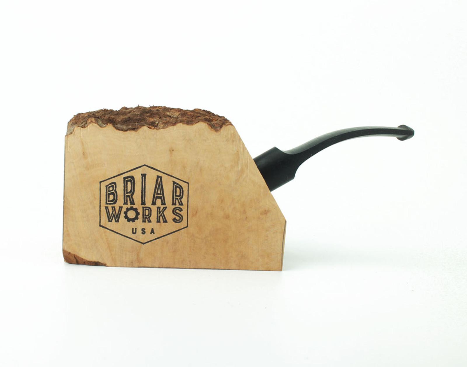 PKP-B - BriarWorks Pipe Kit - Plateaux w/ Bent Stem