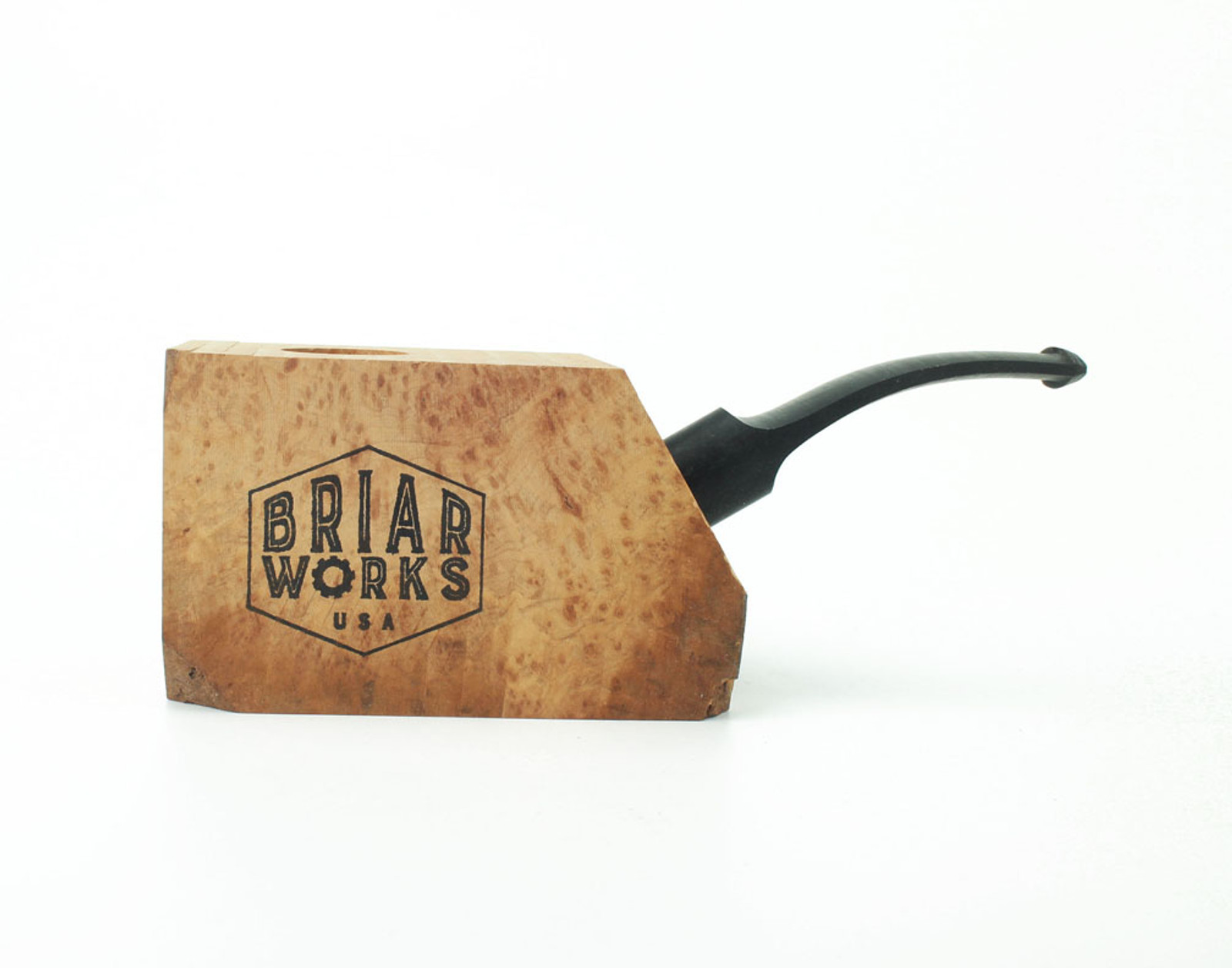 PKE-B - BriarWorks Pipe Kit - Ebauchon w/ Bent Stem