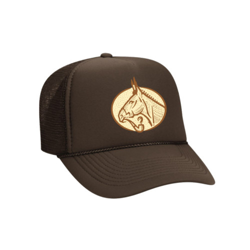 Smoking Mule Hat