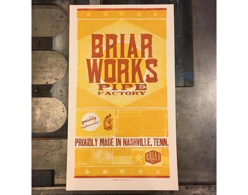 BriarWorks Hatch Show Print Poster