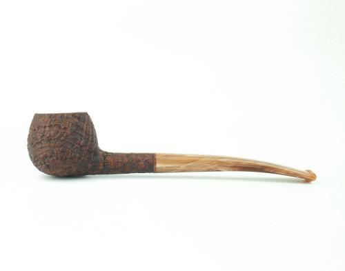 C121BB C - BriarWorks Classic C121 Prince - Brown Blast w/ Coffee Stem