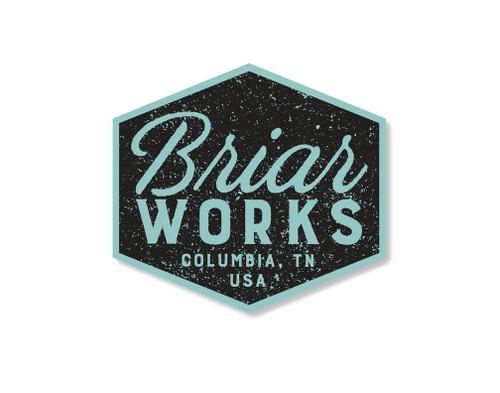 BriarWorks Logo Sticker