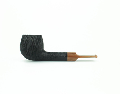 C81DR C - BriarWorks Classic C81 Straight Apple - Dark Rusticated w/ Coffee Stem