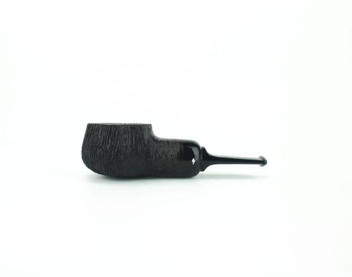 MS08DR B - Moonshine Pot Still - Wire Rusticated w/ Black Stem