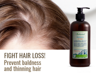 Fight Hair Loss! Prevent Baldness and Thinning Hair