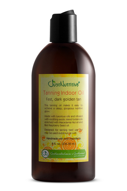 Just Nutritive Tanning Indoor Oil