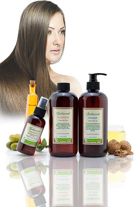 Just Natural Grow New Hair Kit