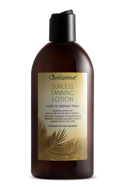 Just Nutritive Sunless Tanning Light to Medium tones - Perfect color
