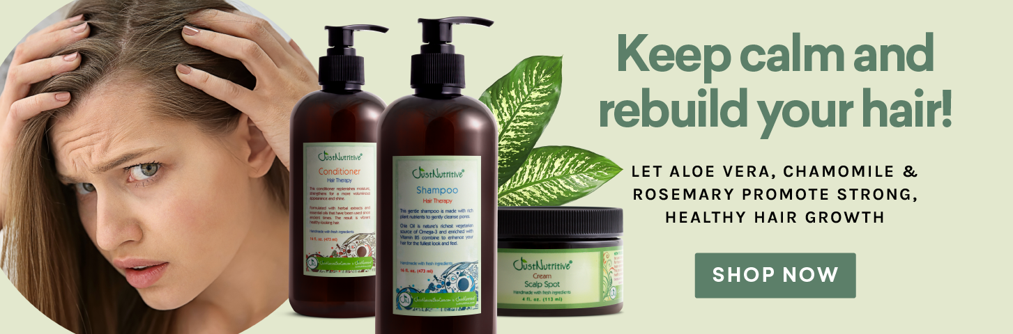 Keep Calm and Rebuild your Hair