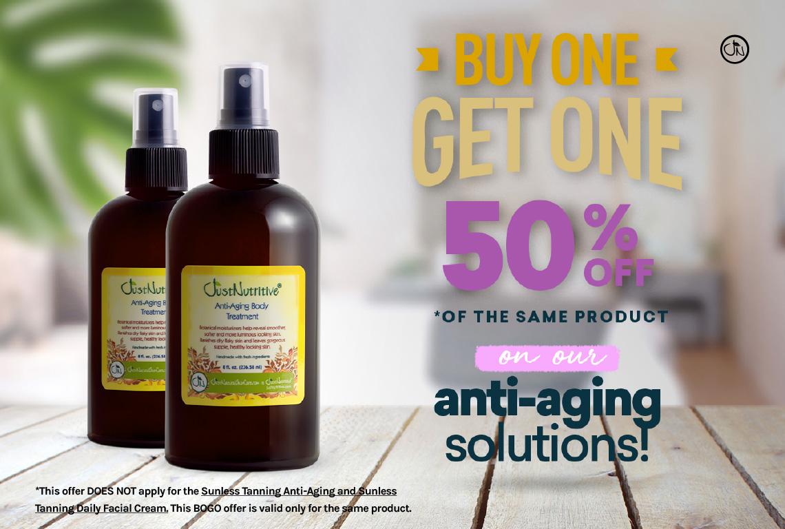 BOGO 50% Off Anti-Aging