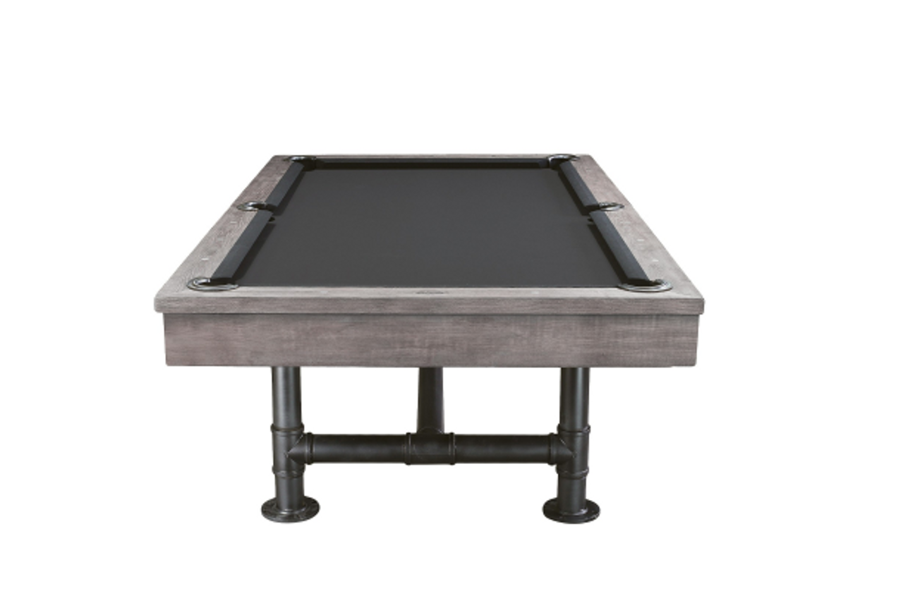 Bedford Pool Table Silver Mist