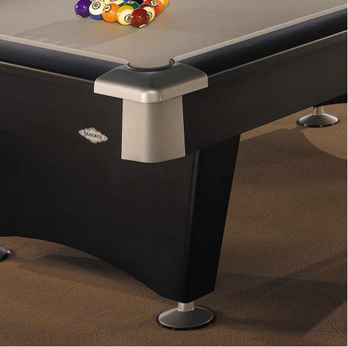 Black Wolf Pool Table With Drop Pocket