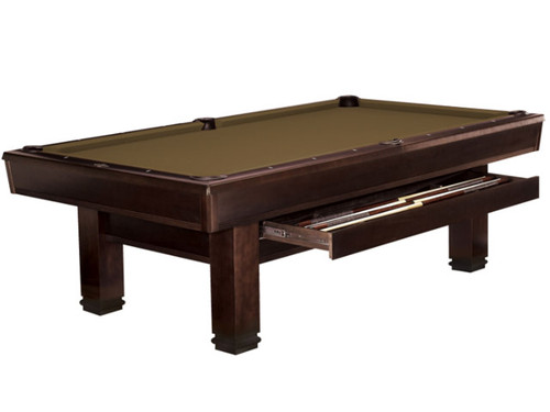 Bridgeport Pool Table Espresso