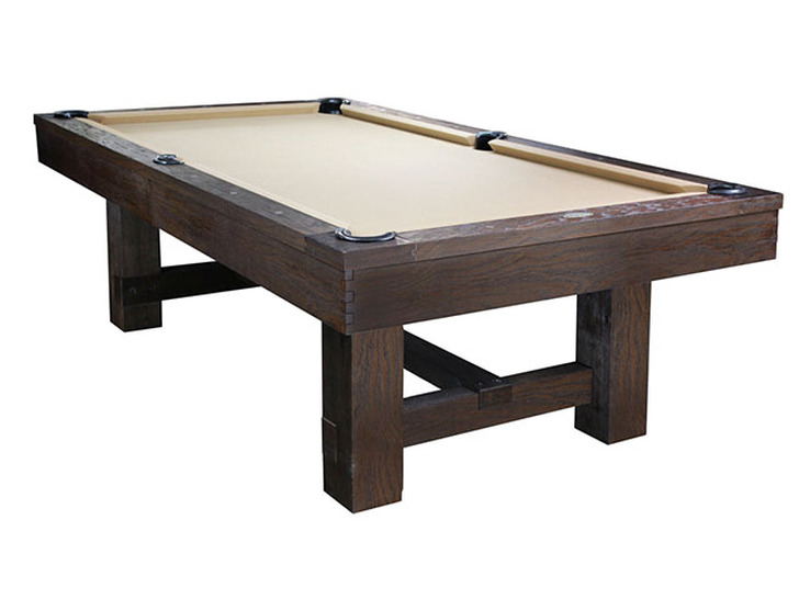 Reno Pool Table Weathered Dark Chestnut