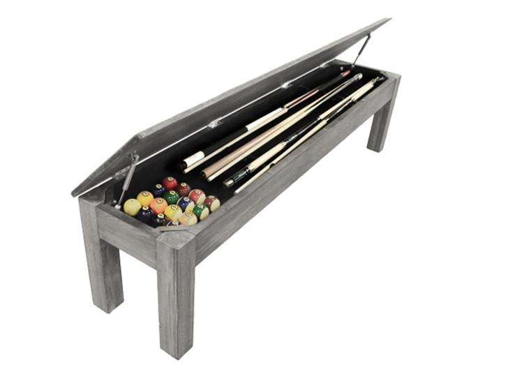 Silver Mist 76-Inch Bench