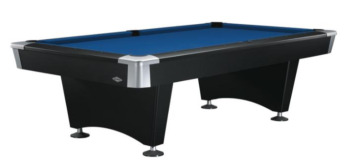 Black Wolf Pool Table
