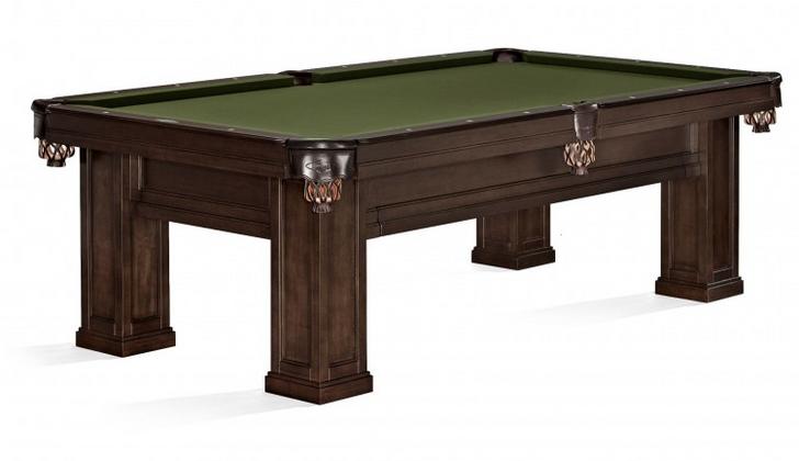Oakland II Pool Table Espresso