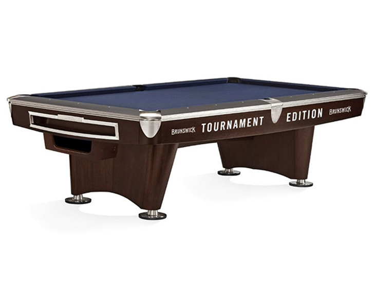 Gold Crown VI Tournament Edition Pool Table in Skyline Walnut