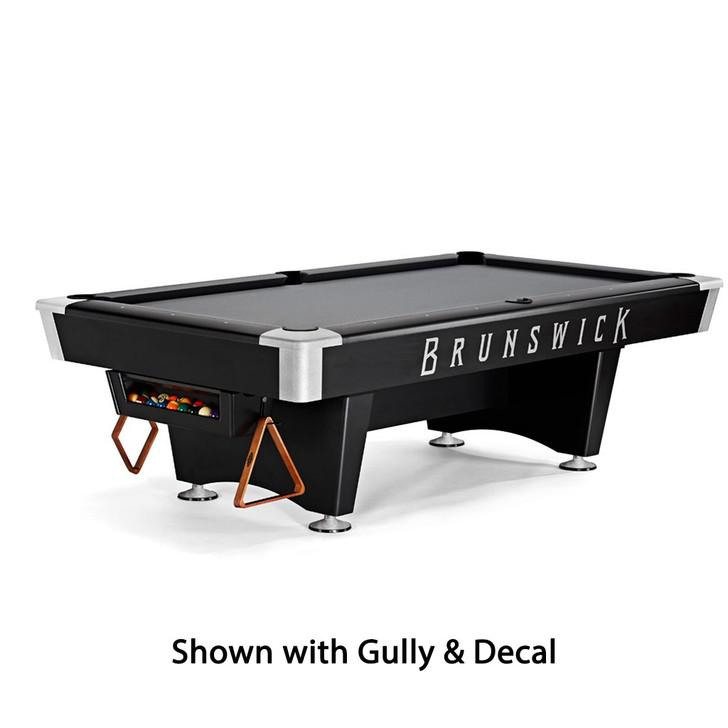 Black Wolf Pro Pool Table