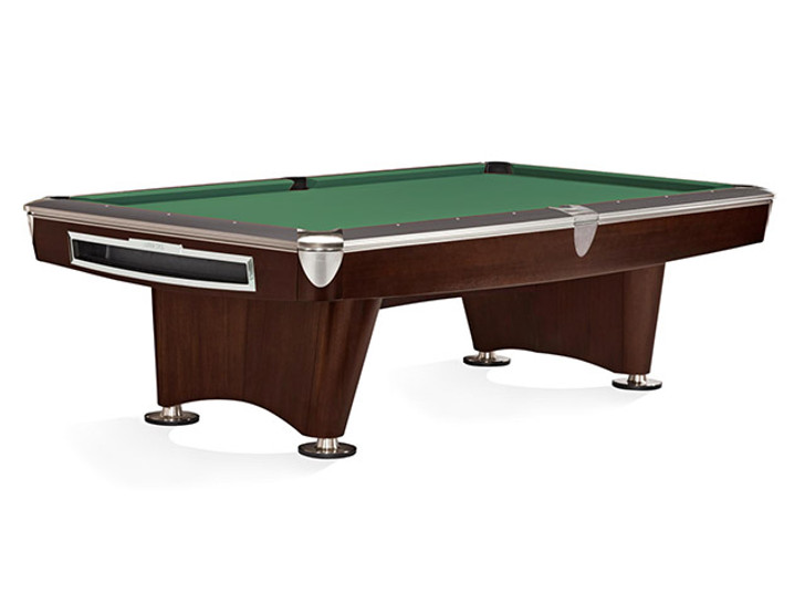 Gold Crown VI Pool Table in Skyline Walnut